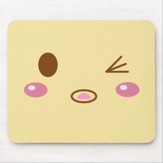 Meat Bun Face Mouse Pad