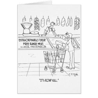 Meat Cartoon 9340 Card