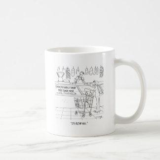Meat Cartoon 9340 Coffee Mug