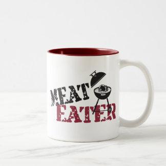 Meat Eater Two-Tone Coffee Mug