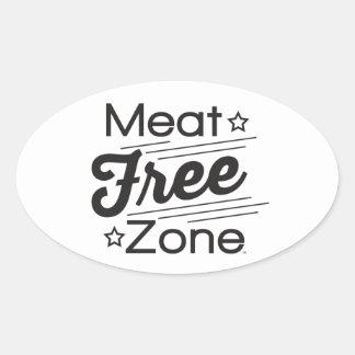 Meat Free Zone Sticker