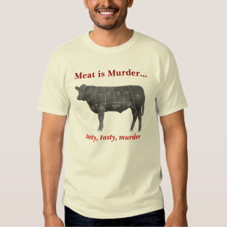 Meat is Murder - Angus T-shirt