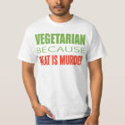 Meat Is Murder - Anti-Meat T-Shirt