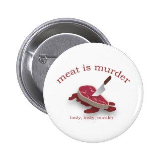 Meat is Murder Pin