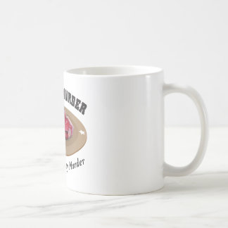 Meat Is Murder - Delicious, Tasty Murder Classic White Coffee Mug
