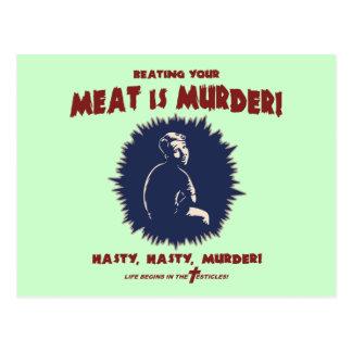 ...Meat Is Murder Postcard