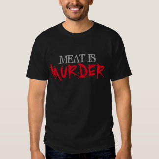 Meat is Murder Shirts