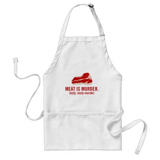 Meat is Murder, Tasty Murder Standard Apron