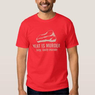 Meat is Murder, Tasty Murder Tee Shirts
