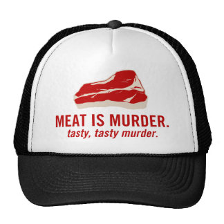Meat is Murder, Tasty Murder Trucker Hat