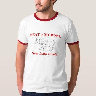 MEAT is MURDER, tasty, tasty mu... Tshirt