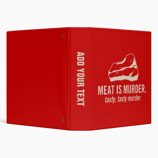 Meat is Murder, Tasty Tasty Murder Binders