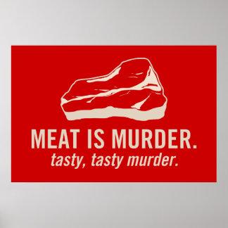 Meat is Murder, Tasty Tasty Murder Poster
