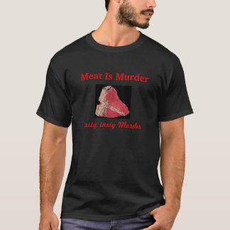 Meat Is Murder, tasty, tasty Murder T-Shirt