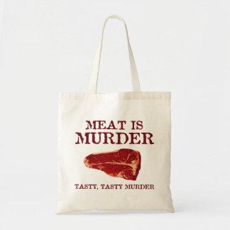 Meat is Tasty Murder Bag
