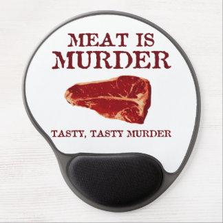 Meat is Tasty Murder Gel Mousepad