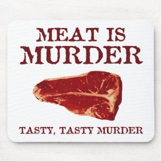 Meat is Tasty Murder Mousepad