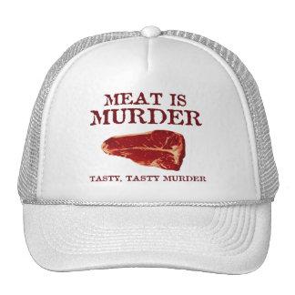 Meat is Tasty Murder Trucker Hat