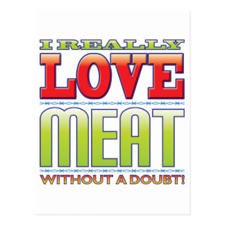 Meat Love Post Cards