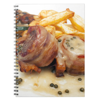 Meat meal notebook