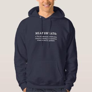 Meat Sweats Redux White hoody