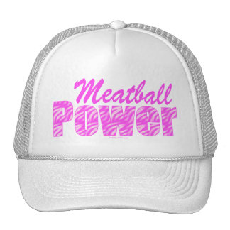 Meatball Power Hats