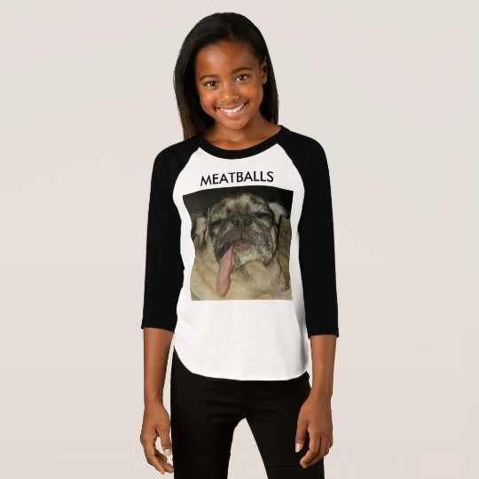 MEATBALLS 3/4 SLEEVE T-SHIRT