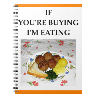 meatballs notebook