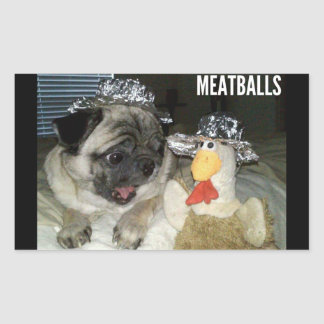 MEATBALLS STICKER