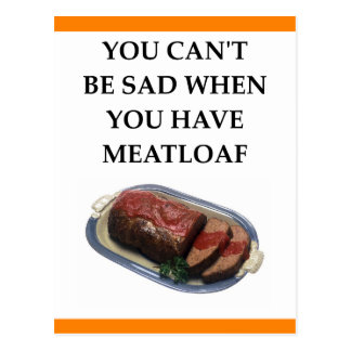 MEATLOAF POSTCARD