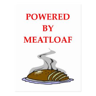 MEATLOAF POSTCARD
