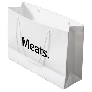 Meats.™ Large Gift Bag
