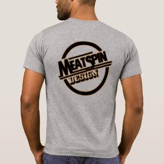 Meatspin Design Logo 1970's T-Shirt