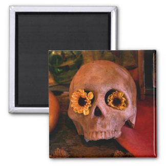 MECA's 2008 Day of The Dead Festival Square Magnet