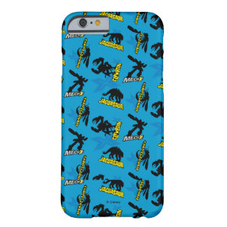 MECH-X4 Blue Pattern Barely There iPhone 6 Case
