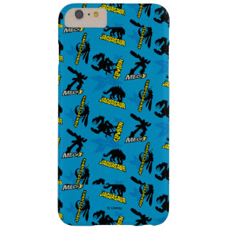 MECH-X4 Blue Pattern Barely There iPhone 6 Plus Case