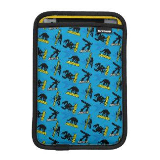 MECH-X4 Blue Pattern iPad Mini Sleeve