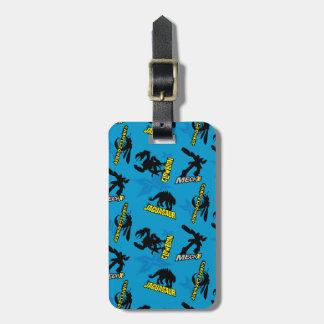 MECH-X4 Blue Pattern Luggage Tag