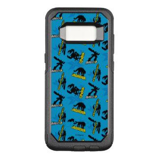 MECH-X4 Blue Pattern OtterBox Commuter Samsung Galaxy S8 Case