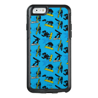 MECH-X4 Blue Pattern OtterBox iPhone 6/6s Case
