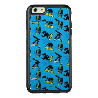 MECH-X4 Blue Pattern OtterBox iPhone 6/6s Plus Case