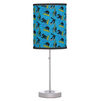 MECH-X4 Blue Pattern Table Lamp