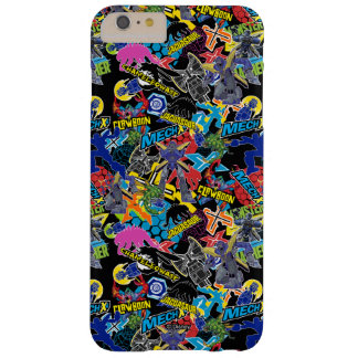MECH-X4 Character Pattern Barely There iPhone 6 Plus Case