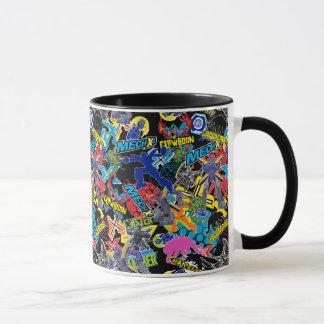 MECH-X4 Character Pattern Mug