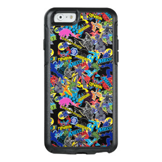 MECH-X4 Character Pattern OtterBox iPhone 6/6s Case