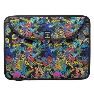 MECH-X4 Character Pattern Sleeve For MacBook Pro
