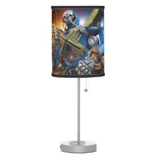 MECH-X4 Co-pilots Table Lamp