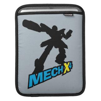 Mech X4 Silhouette iPad Sleeve