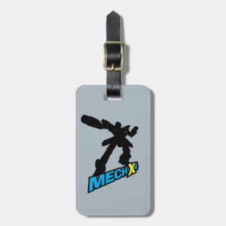 Mech X4 Silhouette Luggage Tag