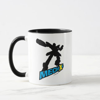 Mech X4 Silhouette Mug